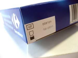 نمونه چاپ بر روی جعبه