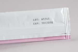 نمونه چاپ بر روی لیبل شرینک