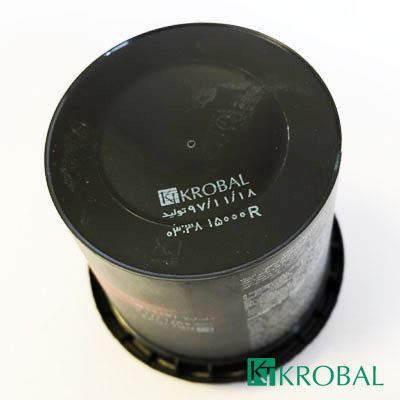 نمونه چاپ جت پرینتر روی لیوان بستنی کارتریج جوهر سفید HP