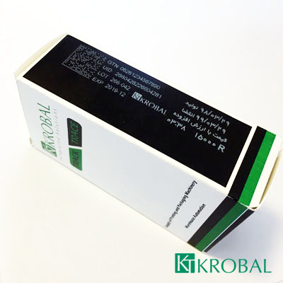 نمونه چاپ جت پرینتر جوهر کارتریج سفید